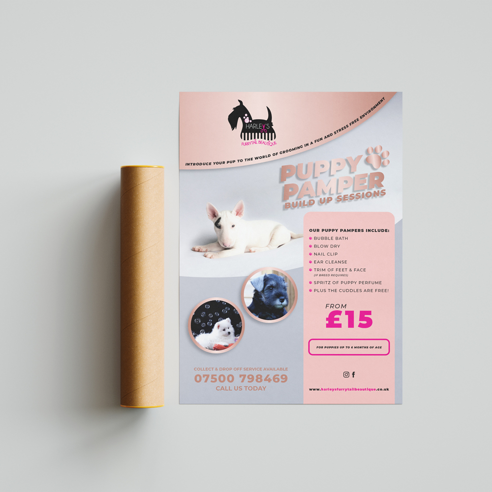 Puppy-Pamper-A1-Poster