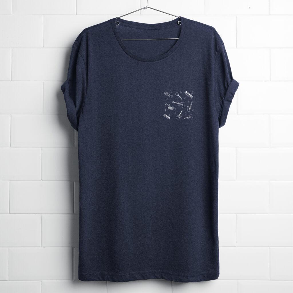 Realistic T-shirt PJ MUSIC